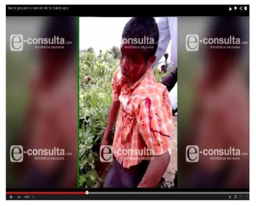 Captura de pantalla  Tomada de YouTube e-consulta